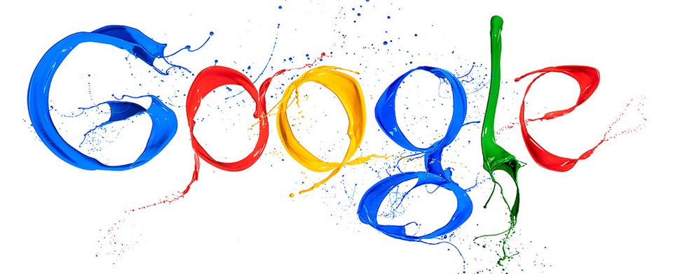 Slávne logo - Google